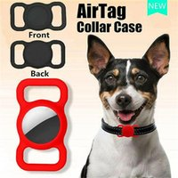 Silicone Airtag Protective Case For Apple Trackers Anti-loss Cover dog Airtags Locator Anti-lost Keychain