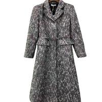 New women's Trench Coats jacket windbreaker fashion elegant comfortable casual autumn winter long sleeve jackets Khaki letter belt slim suit