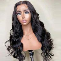 Mstoxic Body Wave Lace Front Human Hair Wigs 28 30 40 Inch Long Brazilian For Black Women Remy1