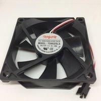 Fans Refriolos Marca Original Tonon TD9025LS 12V 0.16A 9CM 9025 Fan de enfriamiento silencioso hidráulico