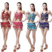 Stage Wear Adult Performance India Danskleding Hoge Kwaliteit 9 Kleuren Belly Dansen Kleding Dames Bollywood Kostuum