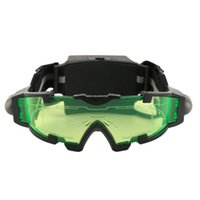 Outdoor Eyewear Mountain BIke Biicycle Googles Adjustable LED Night Vision Goggles With Flip-Out Light Eye Lens Cycling Glasses For Kids