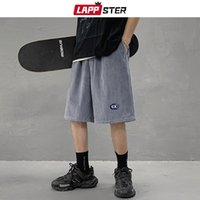 Men's Shorts LAPPSTER Men Y2k Vintage Streetwear Basketball 2021 Summer Mens Causal Harajuku Board Male Korean Fashion