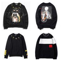 Hombre con capucha impresión suéter sudeter sudaderas hip hop moda unisex jersey hombres mujeres animal impreso suelto ajuste sudadera asiática tamaño múltiples opciones