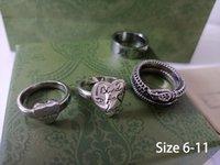925 Anel de amor de prata para os amantes das mulheres dos homens anéis de casamento alta qualidade Casais anéis com caixa homens mulheres designer coração bague g2684