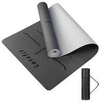Tapis de yoga Environnement convivial confortable antidérapant et antidérapant imperméable facile à nettoyer Portable léger