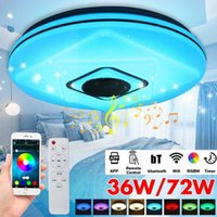 Ceiling Lights 36W 72W WiFi APP Control Modern RGB Led Light Lamp Home Music Bluetooth Speaker Smart With Remote