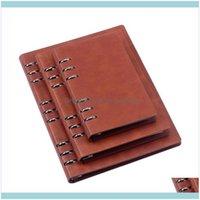 Notes Blocsepads Supplies Office School IndustrialA6 / A5 / B5 Spiral Public Travel Diary Diario Diario Not Not Not Book 6 Anillos Planificador