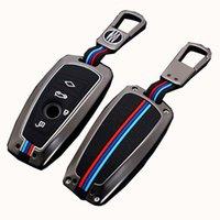 Caso chiave per auto per BMW F10 F20 F30 G20 F31 F34 G30 G20 F31 F34 G30 F11 X3 F25 X4 X5 I3 M3 M4 1 3 Series Keychain Cover Accessori Auto Styling