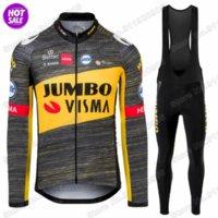 Jumbo Visma Team 2021 Cyclisme Jerseys Ensemble Vêtements de cyclisme Été Vêtements Hommes Vélo Vélo Tops Vélo Tops Vélo MTB Maillot Ropa Ciclismo
