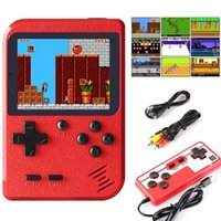 Portable Game Players 400 In1 Retro Vide Consoles Mini Games For Kids Adults Handheld GameBox Gaming Classical FC TV Output Gift