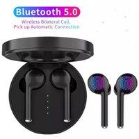 TWS наушники-наушники сенсорный контроль беспроводные Bluetooth наушники мини спортивные игры гарнитура с микрофоном шума для iPhone Xiaomi