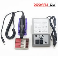 Electric Nail Drill Machine for Manicure and Pedicure 12w Milling s Equipment Set File