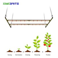 Grow Lights Cover 2X4ft KingBrite 240W Samsung LM301B LM301H Dimmable 3000K 3500K Red 660nm LED Light V3 Board Meanwell Driver