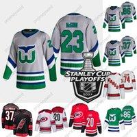 2021 Stanley Cup Playoffs Brock McGinn Carolina Hurrikane Jersey Sebastian Aho Justin Williams Nino Niederreiter Teuvo Teravien Martinook Staal James Reimer