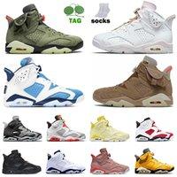 2019 air jordan retro 6 sapatos JUMPMAN 6 basquete 6s UNC Reflexões de um campeão Tinker sapatilhas das mulheres Oregon Branco Infared sapatos homens negros treinadores desportivos