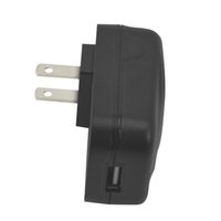 Home Automation Furniture USB Charge Socket Power Adapter Supply American Standard Two Poles Flat Pins Plug 100-240V Output 5V200mA for Phone Smart Watch Devices