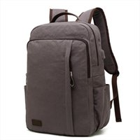 Backpack Canvas Student Bag Usb Charging Casual Large Laptop Designer Capacity School Bags For Teenagers 2021