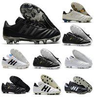 Classics Mens Soccer Shoes Copa Mundial 21 70y Classe eterna FG Couro Botas de Futebol Futbol Cleats Tamanho 39-45