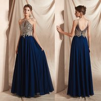 Long Formal Evening Dress for Women, Sheer Sequin Lace Bodice Chiffon Skirt Sleeveles Gown That Hide Belly Fat
