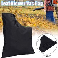 Storage Bags Practical Leaf Blower Bag Zippered Type Dust Collection Waterproof Vacuum Outdoor Shredder Pouch For Garden