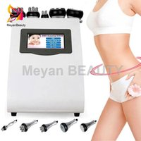 RF 2 Years warranty ultrasonic cavitation fat slimming machine lipo laser weight loss radio frequency skin tightenings beauty 5 heads