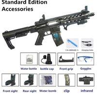 Pistola juguete m416 eléctrico automático rifle agua bomba bomba gel sniper pistola plástico arma modelo para niños niños adultos tiro regalo