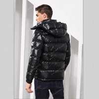 Mens winter down jacket hooded jackets men women Couples Parka Outerwear thick coat black red fashion pies overcome size S-3XL