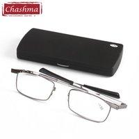 Chashma Quality Глазное стекло Джентльмены Оптический рецепт Рамка для чтения Очки для чтения Человек Случайные Солнцезащитные очки