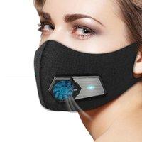 뜨거운 판매 전기 호흡기 안티 헤이즈 PM2 .5 지능형 호흡 밸브 방진 산업 전자 보호 마스크