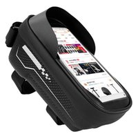 Cell Phone Mounts & Holders Durable Hard Shell Bicycle Bag Mountain Bike Front Beam Waterproof Mobile Riding Equipment 19x10x10CM