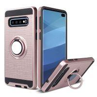For Samsung A21S A71 A31 A11 A21 A01 A51 A20S A10S S10 NOTE 10 360 Degree Rotating Ring Holder Kickstand Bracket Protection Phone Case
