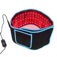 Portátil LED emagrecimento cintura cintos dor alívio luz vermelha infravermelho fisioterapia cinto lllt lipólise corpo moldando sculpting 660nm 850nm laser lipo