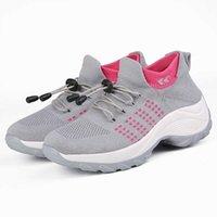 FiTchmous Women Mesh кроссовки дышащие спортивные туфли легкие кроссовки удобные спортивные носки обувь Q0728