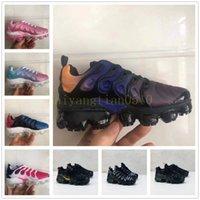 New Kids TN Plus Baby Boy Girl Children Athletic Shoe Fashion Designer Sneaker outdoor Black White Multi Camouflage Running Shoes Eur28-35