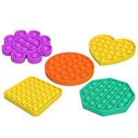 Pulsar Fidget Toy DecomPresione Burbuja Sensorial Autismo Especial Necesidades Especiales Ansiedad Estrés Alivio para estudiantes Novedad