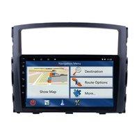 Mitsubishi Pajero V97 / V93 2006-2013 라디오 GPS 네비게이션 스테레오를위한 9 인치 안드로이드 자동차 DVD 장치 플레이어