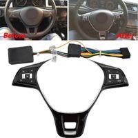 VW MK6 Golf 7 J Etta P Olo Anahtarı Değiştirilmiş Çok İşlevli Direksiyon Simidi Kontrolü Ses Düğmesi Ses