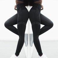 Bayan Tasarımcılar Seksi Yoga Pantolon Tayt Yüksek Bel Spor Salonu Giyim Legging Elastik Fitness Bayan Genel Tam Tayt