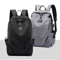 Backpack Fashion Nylon Shoulder Bags For Women 2021 Men'S Female USB Charge Bagpack Notebook Bolsa Feminina