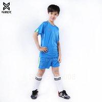 الفتيان زي كرة القدم عالية الجودة الطفل كرة القدم الفانيلة الاطفال فريق مخصص لكرة القدم جيرسي 2019 تشغيل الرياضة الدعاوى وصول جديد