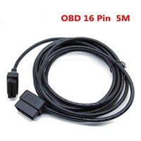 Диагностические инструменты L Тип 5M OBD2 16 PIN-код Мужчина к женскому L-образным Удлинителем локтевого удлинения 16PIN Полный доступ OBD 2
