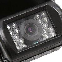 Car Rear View Cameras& Parking Sensors 18 IR LED Rearview Camera Night Vision Wide Angle Waterproof Bus