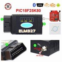 Czytniki kodu Skanowanie Narzędzia 2021 Wersja ELM327 USB FTDI z przełącznikiem skaner HS CAN i MS Super Mini OBD2 V1.5 Bluetooth Elm 327 WiFi