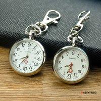 Pocket Orologi Antico Guardiario Primary Keychain Keychain Doctor Nurse Clear Digital Enderly watch9G9B