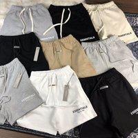 2021 Hombres pantalones cortos para hombre Pantalones impresos de letras con bucles sueltos y pantalones cortos de hip-hop para pantalones cortos de verano de calidad superior