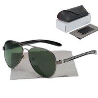 패션 선글라스 남성 여성 선글라스 망 Womens 안경 고품질 UV400 안경 태양 안경 금속 프레임 폴라로이드 렌즈