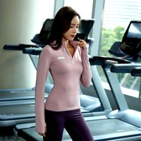 tracksuits Autumn and winter quick drying long sleeve women's Yoga running fitness close fitting elastic body shaping suit professional
