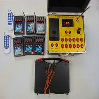 新年の使用433MHz 24 CUEリモートラジオの燃焼結婚式ギフト防水ボックスZZYイエロー - ワイヤ効果花火焼成システム電気ラインセキュリティ監視