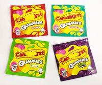 500 мг Ягоды Тропический CA NN ABU RST Конфеты Упаковочная сумка Трансграничные Упаковочные Сумки Продажа Gummies DHL